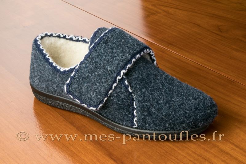 chausson scratch femmes noires chausson ouverture velcro. Black Bedroom Furniture Sets. Home Design Ideas