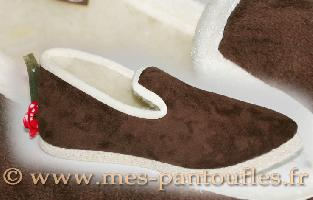 CHAUSSONS VELOURS