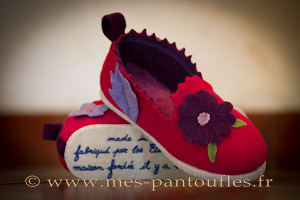 PANTOUFLES FANTAISIE DESIGN